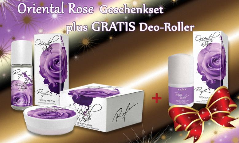 refan,myrefan,oriental rose -geschenkset