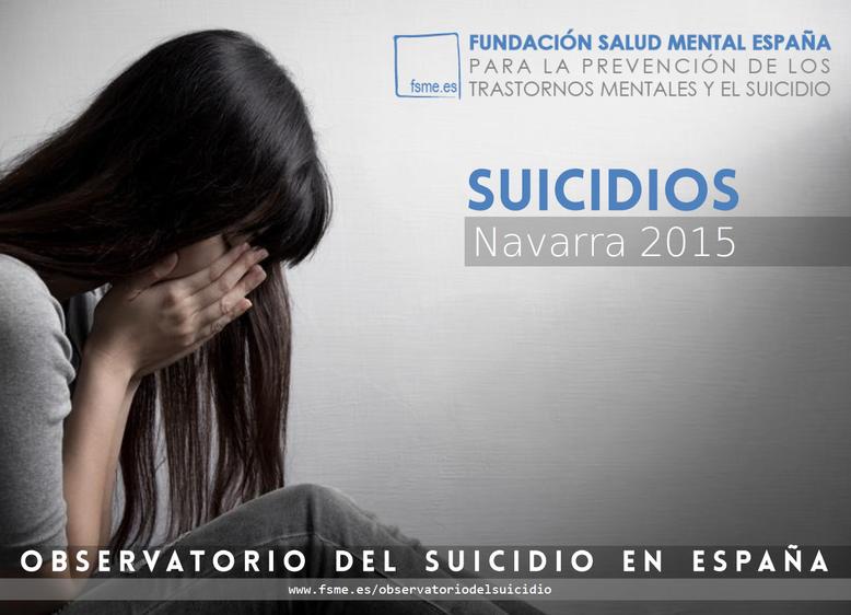 Navarra. Suicidios 2015.