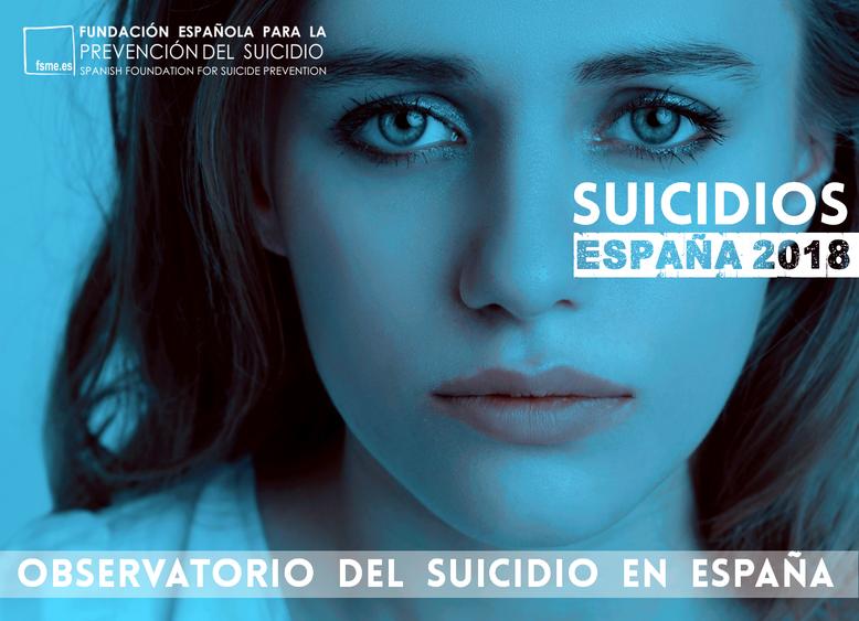España. Suicidios 2018.