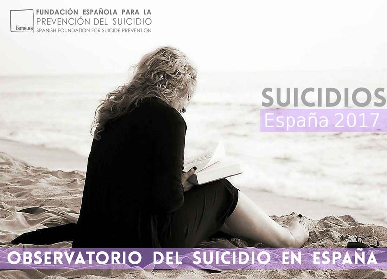 España. Suicidios 2017.