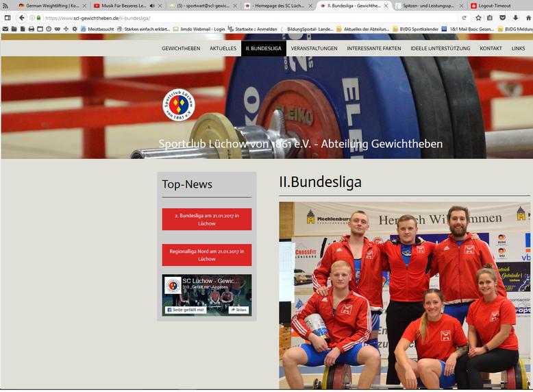 Klick zur Homepage der Gewichtheber