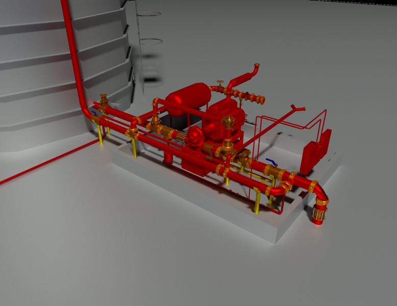 Sistemas de Hidrantes y Rociadores automáticos