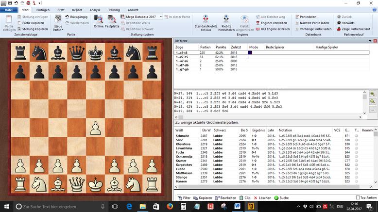 Schach Vorbereitung