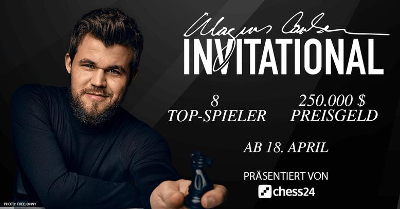 Magnus Carlsen Invitational, Ablauf, Modus, Regeln