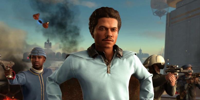 Donald Glover wird im Kinofilm Han Solo: A Star Wars Story in der Rolle von Lando Calrissian zu sehen sein. Bilderquelle: Screenshot des Shooters Star Wars: Battlefront von EA