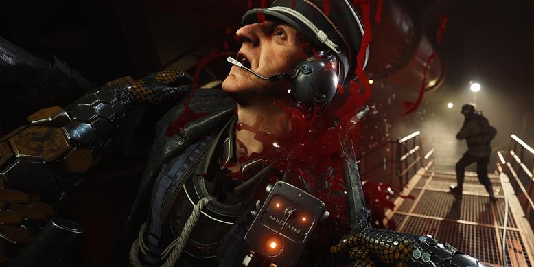 Im deutschen Trailer zum Ego-Shooter  Wolfenstein 2: The New Colossus geht es blutig zur Sache. Bilderquelle: Bethesda