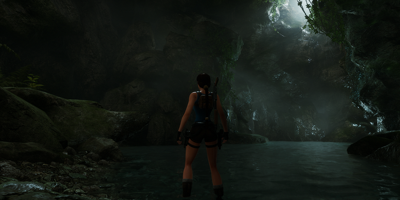 Auf Basis der Unreal Engine 4 ensteht das Tomb Raider 2 Remake The Dagger of Xian. Bilderquelle: tombraider-dox.com
