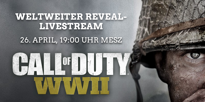 Call of Duty WW2 Reveal Livestream Youtube Twitch PlayStation Website