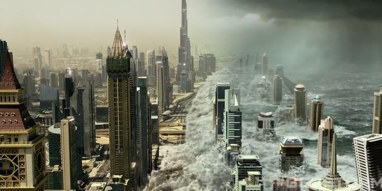 Der neue deutsche Kino-Trailer zu Geostorm zeigt spektakuläre Film-Aufnahmen. Bilderquelle: Warner Bros. Pictures