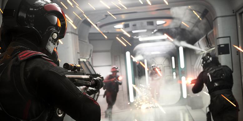 Die öffentliche Testphase zu Star Wars Battlefront 2 startet im Oktober 2017 für PS4, Xbox One und PC. Bilderquelle: EA