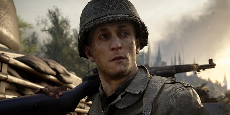 Mit Gun Game, Demoltion und Lockdown erhält Call of Duty WW2 neue Multiplayer-Spielmodi, die in einem gelakten Gameplay-Video erstmals enthüllt werden. Bilderquelle: Activision