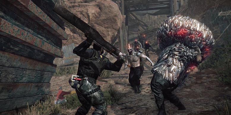 Konami zeigt neue Spieleindrücke zu Metal Gear Survive in Bilderform mit Spielszenen. Bilderquelle: Konami