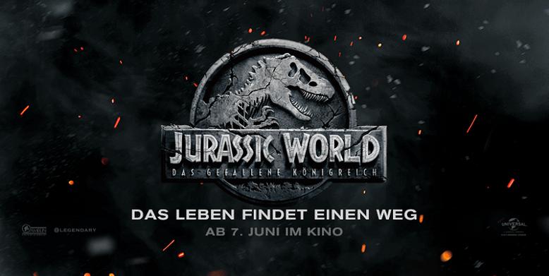 Vorgeschmack auf den ersten offiziellen Trailer zu Jurassic World 2 im neuen Teaser-Video präsentiert. Bild: Universal Pictures