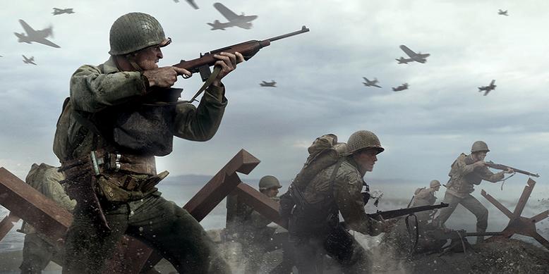 """Zu dem Actionspiel Call of Duty WW2 wurde die offizielle Doku """"Bruderschaft von Heden"""" veröffentlicht. Bild: Activision"""