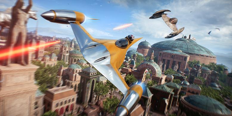 Star Wars Battlefront 2 bietet neben einer Singleplayer-Kampagne auf der Seite des Imperiums auch verschiedene Multiplayer-Modi, die innerhalb von zwei neuen Entwicklervideos beleuchtet werden. Bild: Electronic Arts
