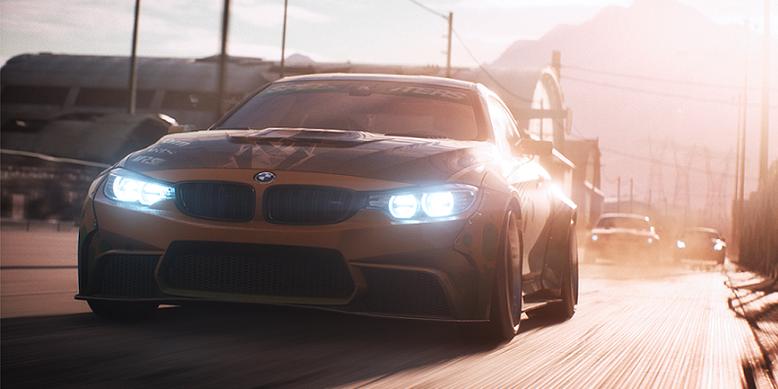Im neuen Trailer zu dem Action-Rennspiel Need for Speed Payback geht es rasant und fetzig zur Sache. Bilderquelle: EA