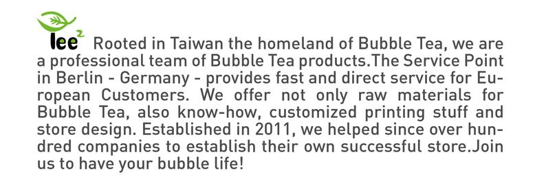 About Us - Bubble Tea Product Wholesale