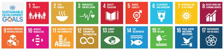 Unsere Arbeit unterstützt die Nachhaltigkeitsziele der Vereinten Nationen und insbesondere Ziel 3, Gesundheit und Wohlbefinden, Ziel 4, Qualitätsbildung und Ziel 15, Landleben. Quelle: https://sustainabledevelopment.un.org