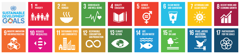 Our work supports the Sustainable Development Goals of the United Nations by adressing goal 3, Good Health and Well-Being, goal 4, Quality Education and goal 15, Life on Land. Source: https://sustainabledevelopment.un.org