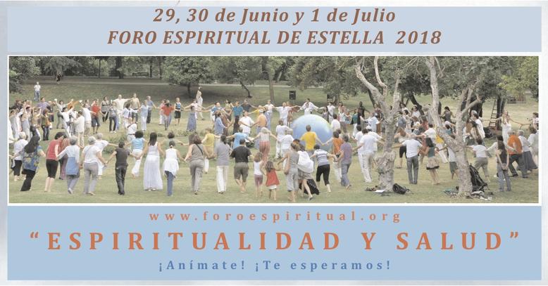 Foro Espiritual de Estella 2018