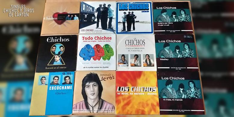 SINGLES  CHICHOS Y JEROS DE CARTÓN