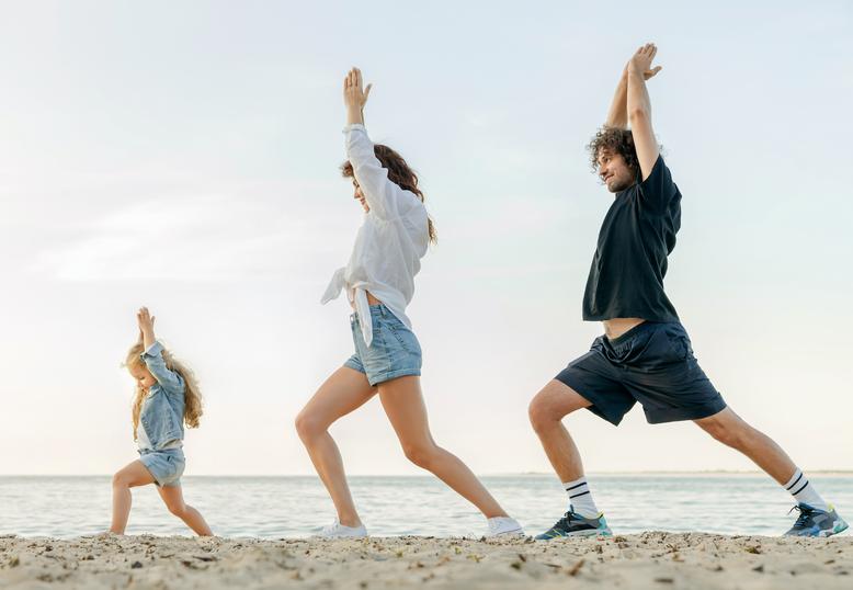Exercice physique en plein air et en famille, essayer en famille...Marie del Pozo, naturo reflexo, Saint-Laurent de La Prée, Aytré