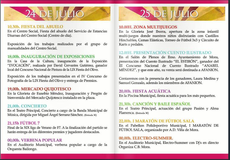 Programa Santa Ana en Mora