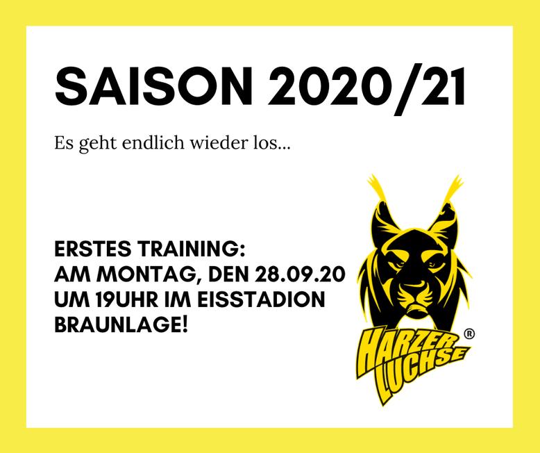 Saisonstart 2020/21