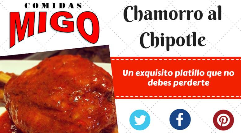 Chamorro al Chipotle, el mejor de León, Gto. (Chamorro Adobado)