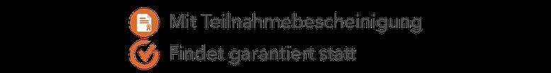 Webinare mit Teilnahmebescheinigung
