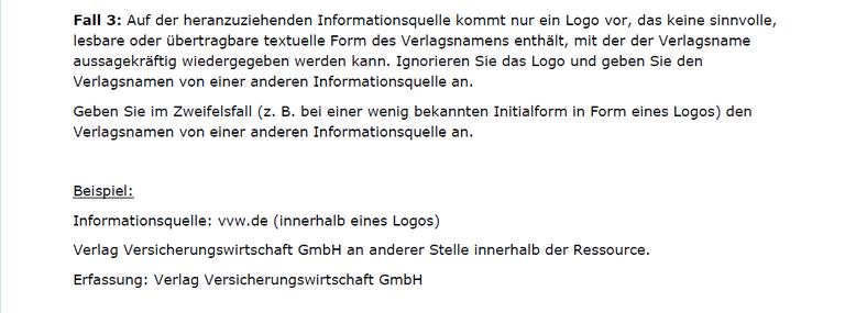 Die neue D-A-CH-Erläuterung zum Umgang mit Logos (RDA 2.8.4.3)