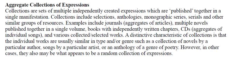 """Erläuterung zur """"aggregierten Sammlung von Expressionen"""""""