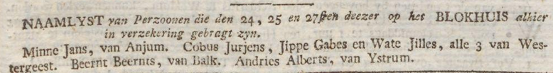 Friesche courant gelykheid, vryheid en broederschap 28-02-1797