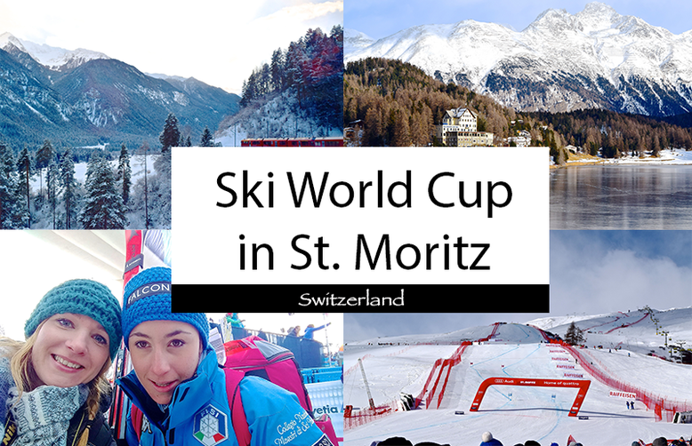 Ski World Cup in St. Moritz, Switzerland
