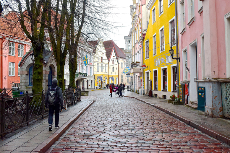 Winter Break in Tallinn, Estonia - What to Do and See - Pikk Street