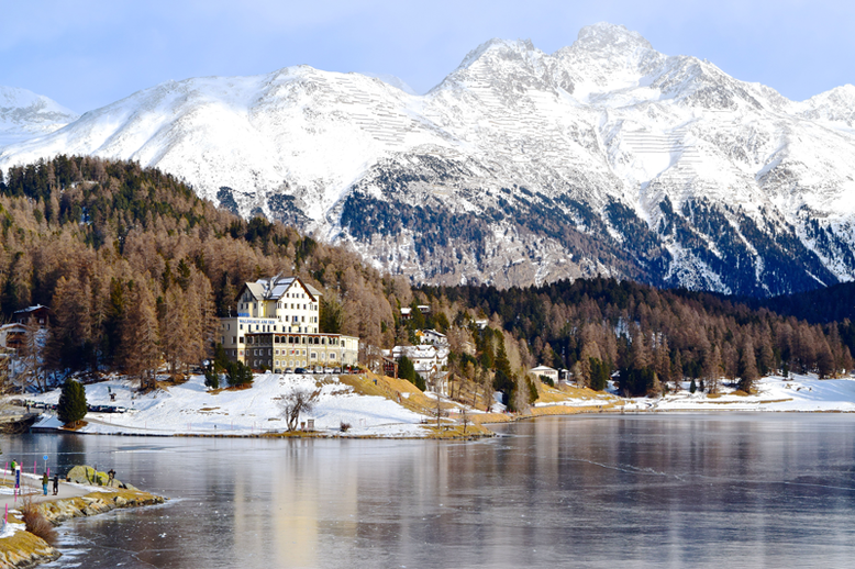 Ski World Cup in St. Moritz, Switzerland - St. Moritzersee