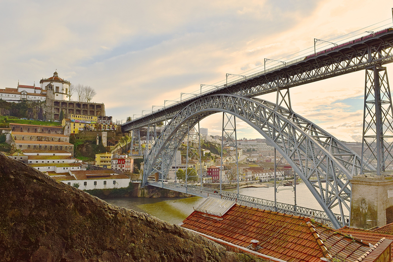 Weekend Break in Porto - The Dom Luis Bridge