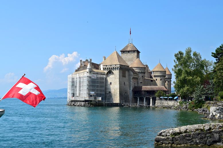 Castles of Switzerland - Chillon Castle