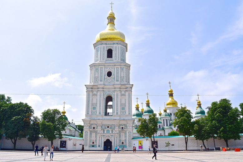 Things I've Done in Kiev - Saint Sophia's Cathedral