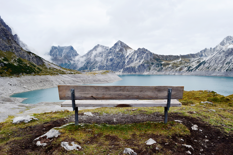 10 Scenic Hikes Around the World - Lüner Lake, Austria