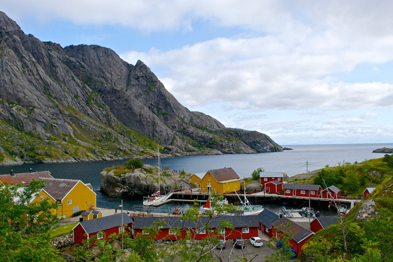 From Tromso to the Lofoten Islands - Nusfjord