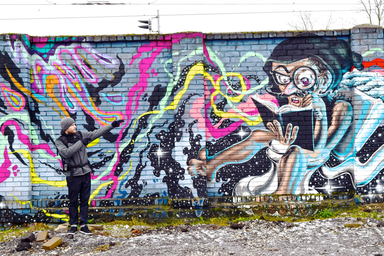 Winter Break in Tallinn, Estonia - What to Do and See - Street Art