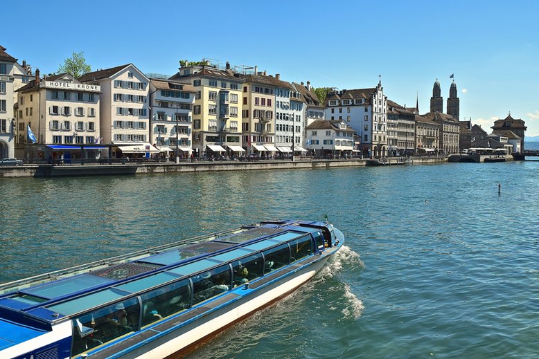 Unique and Cool Things to Do in Zurich, Switzerland - Ship Cruise on the Limmat River