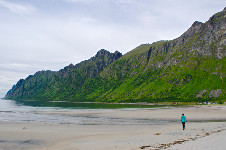 This is Senja, Norway - Ersfjord Beach
