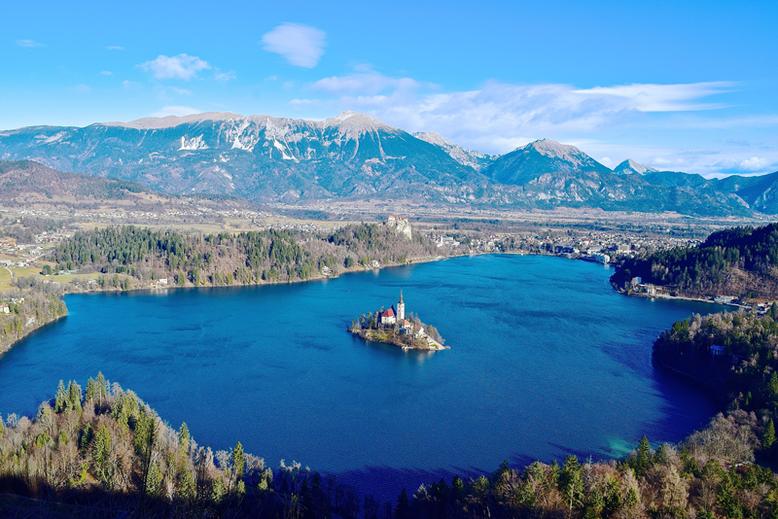 7 Tage in Slowenien, Reiseplan - Bledersee