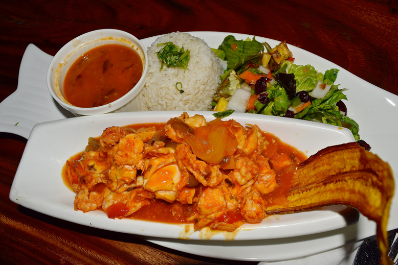 Is it Worth to Go to Puerto Rico - Lobster with rice and salad