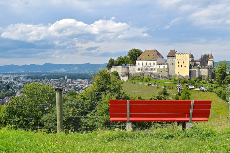 The Most Beautiful Castles in Switzerland - the Lenzburg Castle