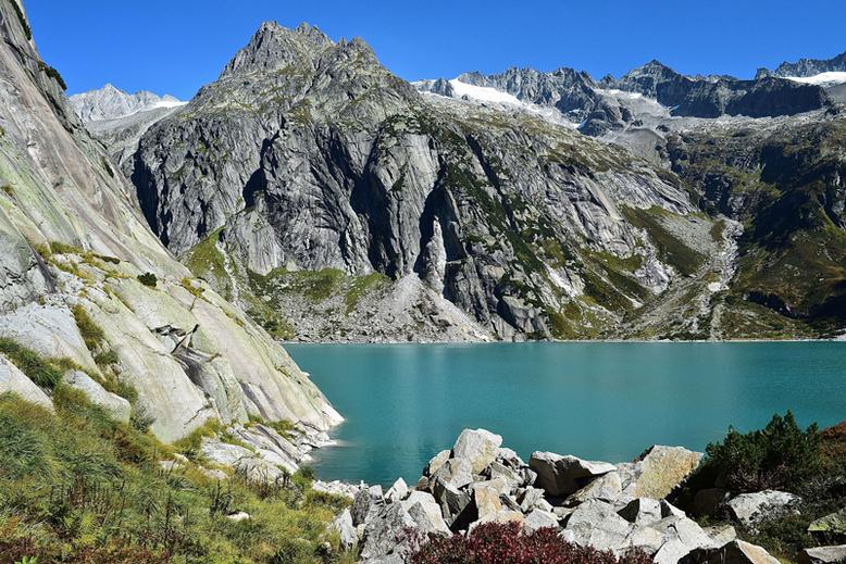 Die schönsten Seen in der Schweiz - Gelmersee