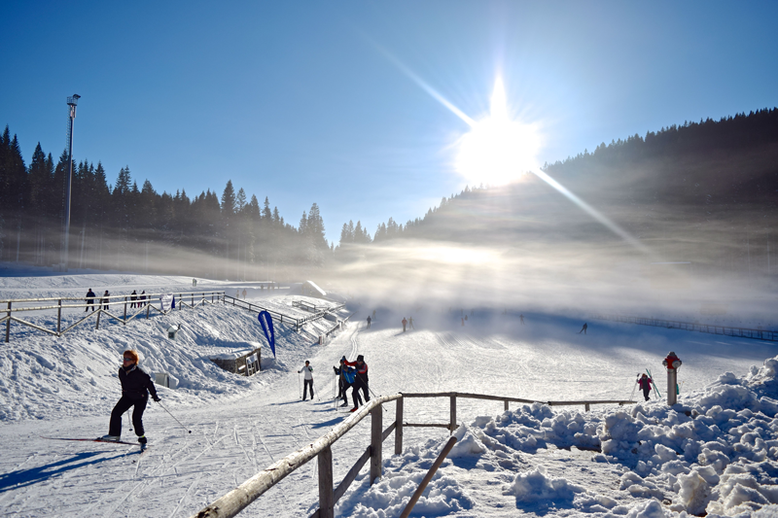 Top 6 Winter Activities in Slovenia - Cross-Country Skiing at Pokljuka