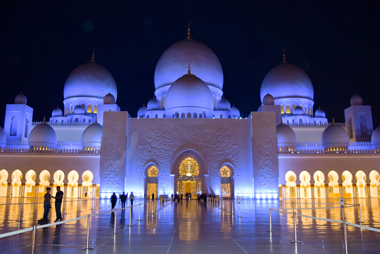 Top Destinations to Escape the Winter in Europe - Abu Dhabi, UAE